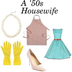 housewife by michelle-persad on Polyvore featuring Giuseppe Zanotti, Juliet & Company and Williams-Sonoma