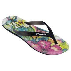 0157478e2035d Rider: Women's Colleen Wilcox Smoothie Flip Flop (Black/Black). Slipper  SandalsShoes ...