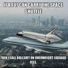 If a Boeing 747 Can Carry a Space Shuttle