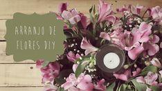 Arranjo de Flores para Casamento DIY