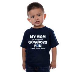 Dallas Cowboys Toddler My Mom Tee