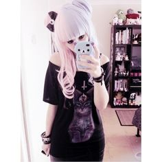 pastel goth | Tumblr ❤ liked on Polyvore