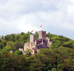 Rötteln Castle (German: Burg Rötteln), located above the Lörrach suburb of Haagen, lies in the extreme southwest corner of the German state of Baden-Württemberg. The fortification was one of the most powerful in the southwest, and today is the third largest castle ruin in Baden.[