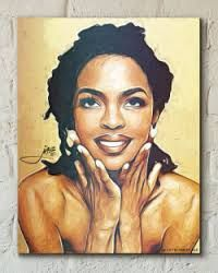 Image result for lauryn hill drawing