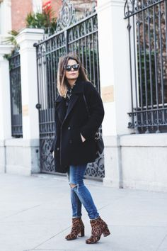 soapbox-diary: Zara Leopard Boots