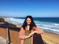 Logan's beach spotted a few Dolphins today! Can't wait to get back down here in a month to see the whales on their migration! #LogansBeach #Warrnambool #Travel by _chloeprice