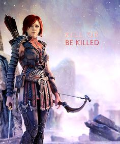 The only way out of this game is to kill or be killed. #dragonage #leliana