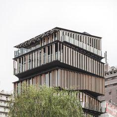 Kengo Kuma & Associates, Rasmus Hjortshøj · Asakusa Culture and Tourism Center