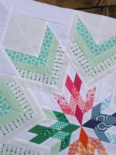 Bird in the window quilt star, aviatrix medallion center star quilt