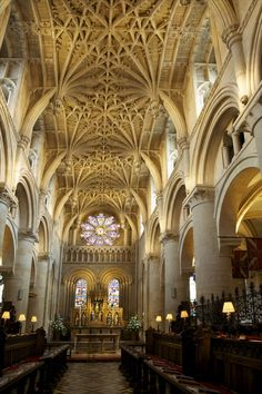 Christ Church Cathedral in Oxford, England.