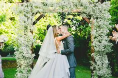 A Romantic, Vintage Wedding at Carondelet House in Los Angeles, California