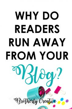 Why I don't visit your blog