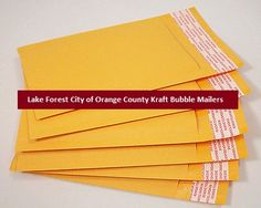 Lake Forest City of Orange County Kraft Bubble Mailers.Kraft Bubble Mailers are popularly being used as mailing accessories in offices and households, highly durable design with the light weight air-bubble sheet layer on the inner side of envelope. And Pacdepot also offers you Lake Forest City of Orange County Kraft Bubble Mailers. Read more about Lake Forest City of Orange County Kraft Bubble Mailers at http://pacdepot.com/blog/lake-forest-city-of-orange-county-kraft-bubble-mailers.html