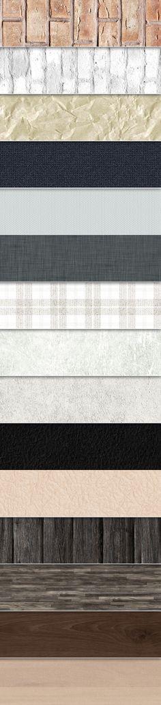 12 Free Seamless Textures Web Design, Tool Design, Fabric Textures, Textures Patterns, 3d Max Vray, Palette, Seamless Textures, Free Graphics, Layout