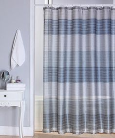 Love this Blue Ombré Jewel Shower Curtain by Beatrice Home on #zulily! #zulilyfinds