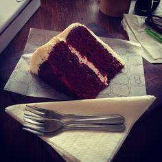 Red Velvet delight at Vovo Telo's in Parkhurst Red Velvet, Cake, Desserts, Food, Tailgate Desserts, Pie, Kuchen, Dessert, Cakes