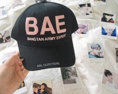 Limited Edition BAE Bangtan Army Expert BTS Baseball Cap