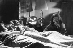 P.J. Soles and John Carpenter Laugh About a scene in Halloween.