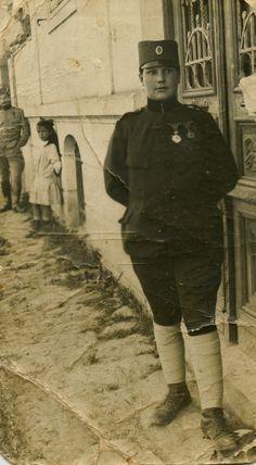 Milunka Savić, najodlikovanija žena u istoriji vojevanja - Milunka Savić, the most awarded female combatant in the history of warfare, WWI