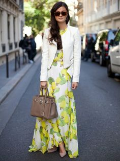 Maxi Dresses with Jackets