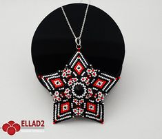 Hey, I found this really awesome Etsy listing at https://www.etsy.com/ca/listing/271419550/tutorial-acamar-star-pendant-beading