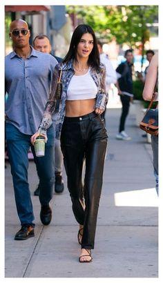 Looks Street Style, Model Street Style, Casual Street Style, Looks Style, Celebrity Style Casual, Kendall Jenner Outfits Casual, Kendall Jenner Style, Kendall Jenner Fashion, Kendall Jenner Modeling