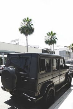 Matte Black G Wagon