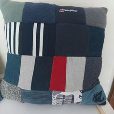 Patchwork memory cushions now available
