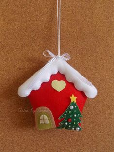 Lindos adornos de Navidad con fieltro (incluyen moldes) - Dale Detalles