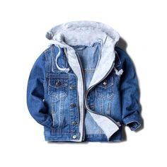Cheap boys denim jacket, Buy Quality kids outwear directly from China boys fashion jacket Suppliers: Handsome boy jackets coats hooded children kids spring&autumn baby boys denim jackets fashion coats kids outwear high qulity Boys Denim Jacket, Denim Jacket Fashion, Jackets Fashion, Denim Jackets, Baby Boy Jackets, Mode Mantel, Baby Jeans, Trendy Baby Clothes, Kids Coats