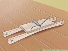 Image titled Adapt a Mousetrap Car for Distance Step 1