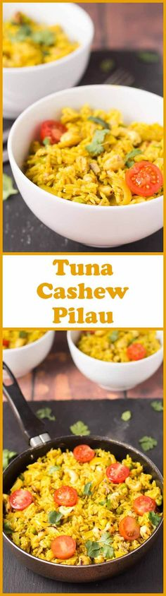 This tuna cashew pilau recipe is so easy and it's budget friendly @Neiltoo. It's made in well under an hour, all in one pot meaning that you can relax easily with hardly any dishes to do!