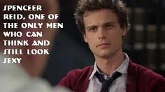 Reid being the only men to think and look sexy simultaneously