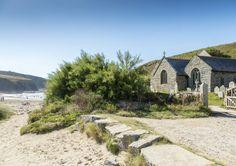Gunwalloe Church Cove & The Church of Saint Winwaloe, Lizard Peninsula, West Cornwall Cornwall England, St Ives Cornwall, West Cornwall, Devon And Cornwall, South Yorkshire, Yorkshire England, Yorkshire Dales, National Trust, Beautiful Places To Visit