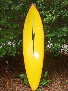 Vintage 70s Era Gerry Lopez Lightning Bolt Surfboard | SURFBOARDS ...