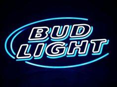 Bud Light Neon Bar Sign Beer Bud Light Neon Sign, Bud Light Beer, Beer Table, Beer Pong Tables, Neon Bar Signs, Led Neon Signs, Beer Signs, Old Signs, Blue Aesthetic