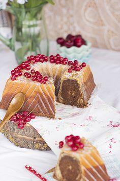 Combina el chocolate, la vainilla y la avellana en este maravilloso bundt cake en tu molde Nordic Ware! éxito seguro!