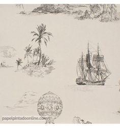 Papel Pintado Chantilly en papelpintadoonline.com - venta online de papeles pintados de pared de las mejores marcas