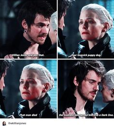 """Killian, your revenge is not your happy ending. I am. You told me that.""  #CaptainSwan"