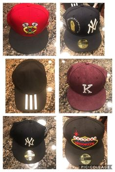 6edb8c413e4 New Era Hats Yankees Blackhawks Fitted Snapback New Pre owned Kith Banned  Nike  KITH New