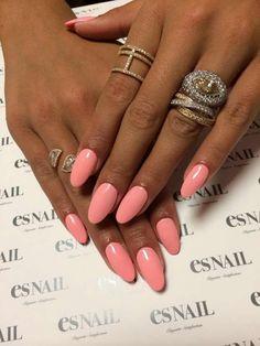 Summer Color Acrylic Nails…