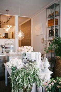 The prettiest flower shop   Photography: Heidi Lau - heidilau.ca  Read More: http://www.stylemepretty.com/living/2014/09/03/behind-the-scenes-sweet-woodruff/