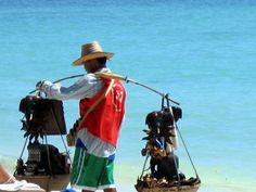 Beach Vendor Koh Samui Thailand