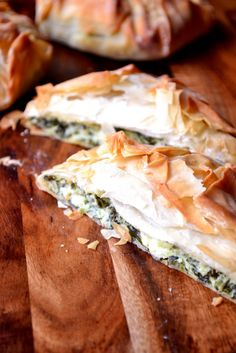 """Feta and Spinach Borek - delicious Middle Eastern filo parcels. With a simple filling of feta and spinach these are the very definition of """"fast food""""."""