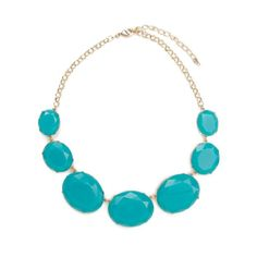 Oval Stone Necklace - Daily Look Mar 20, 2012
