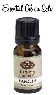 Vanilla Essential Oil on Sale