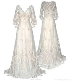 Claire Pettibone Geisha wedding dress. Beautiful, but as it's Fall 2010, it's been discontinued!