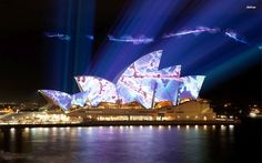 #DidYouKnow: The play of lights enveloping the world famous @Sydney opera house in @Australia consumes 279.255 kWh of power per year. Identified as one of the 20th century's most distinctive buildings, the multi-venue performing art center hosts such events throughout the year.
