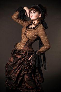 Liking the corset-jacket