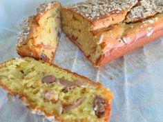 Υπέροχο αλμυρό κέικ με πιπεριές, διάφορα κίτρινα τυριά και ζαμπόν καπνιστό! - Γεύση & Συνταγές - Athens magazine Banana Bread, Easy Crafts, Muffins, Sandwiches, Desserts, Cup Cakes, Food, Greek, Pizza